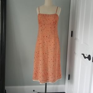 Free people peach dress